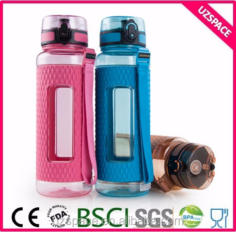 Health product Negative ions energy plastic sport water bottle