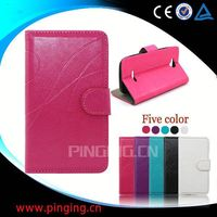 Wholesale Irregular stripe PU Leather Mobile Phone Case for Samsung Galaxy Trend 2 lite G318F Protective Case