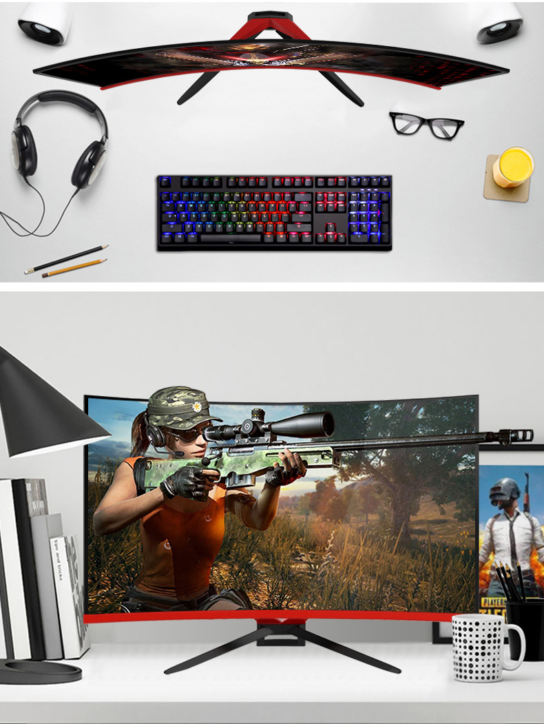 big size monitor led 32 inch 1m response 144 hz monitor