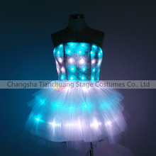 Jazz and RAP Dance Lady LED Light up Skirt