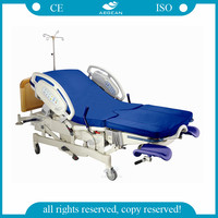 AG-C101A04 labor Gynecological cheap hospital bed with Power cord