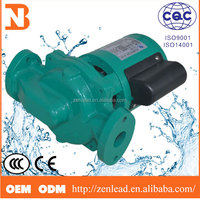 hot water high pressure circulation booster pump for shower 40G125R