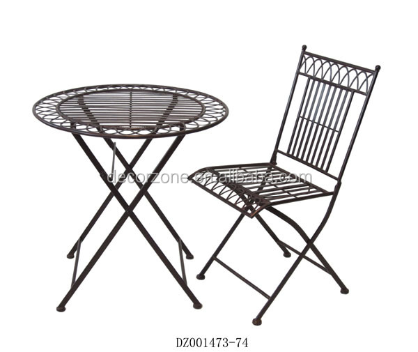 Wholesale Metal Outdoor Furniture Table And Chair