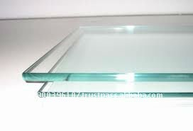 4 mm thickness clear and tinted tempered glass