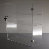 Brand Acrylic Lucite Showcase Jewelry Pastry Bakery Counter Display W/door & Lock