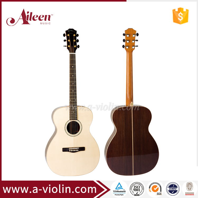 "40"" China OEM All Solid Wood Acoustic guitar manufacturer china (AFH409)"