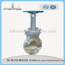ANSI knife A105 Gate Valve