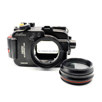 Starbea Meikon A6000 Underwater Aluminum Housing for Sony Camera With Interchangeable Port