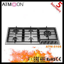kitchen appliance 5 burner home appliance lastest gas hob