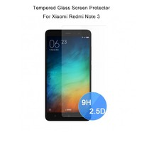 Mobile phone accessories Wholesale Best 2.5D 9H Hardness Tempered Glass Screen Protector for Xiaomi Redmi Note 3