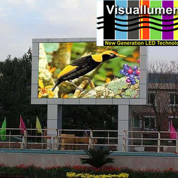 P12 DIP Waterproof LED full color outdoor mobile led display
