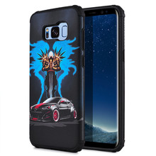 Hot Mobile Phone Accessories Sports Car Pattern IMD Shockproof TPU Phone Case for Samsung Galaxy S8 plus and S8 Cell Phone Cover