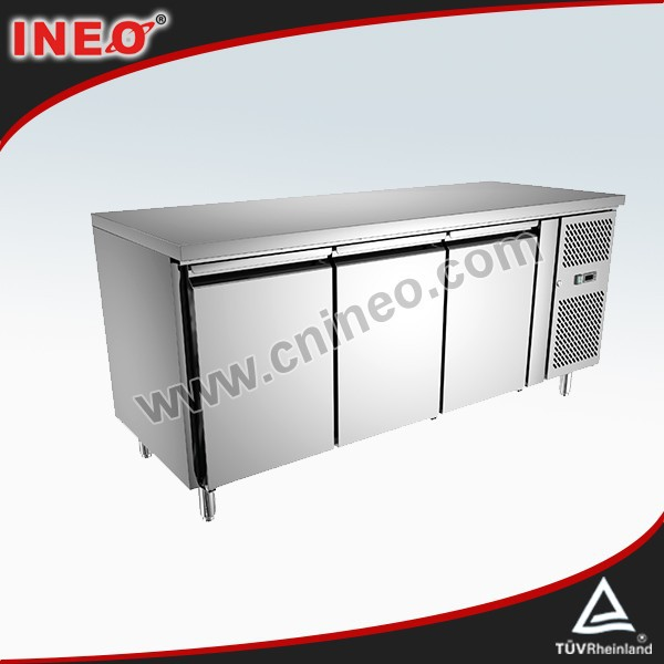 Commercial Kitchen Chest Freezer Stainless Steel/Big Capacity Chest Freezers/R404a Gas Chest Deep Freezers