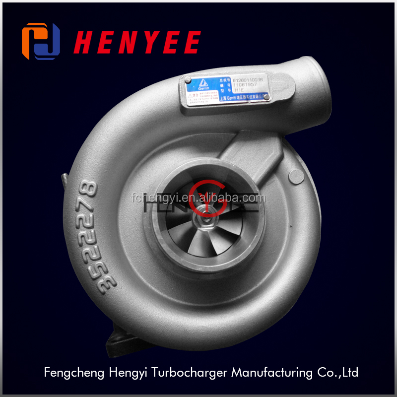 China Wholesale Truck Turbo H1E Turbocharger OEM 61260110038 Turbo on Hot Sale