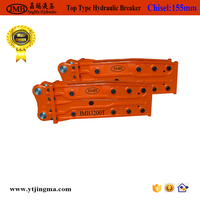 rock drill machine hydraulic rock breaker for 20 ton excavator rock hammer