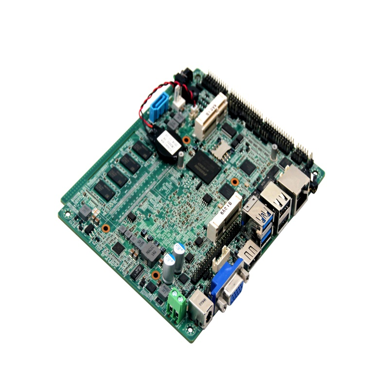 fanless x86 single board computer intel quad core ddr3 motherboard