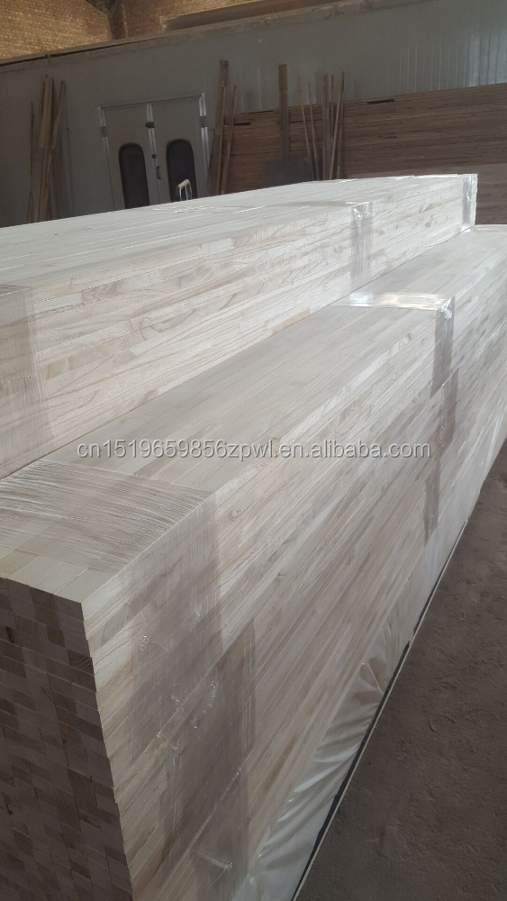 paulownia finger jointed board solid kiri wood for sale