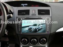 Special 2010 new Mazda 3 car DVD with GPS, steering wheel control, bluetooth, RDS, TV, FM and other functions
