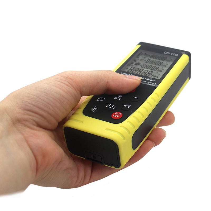 Portable distance meter Rangefinder 100M with lowest price digital measuring tools