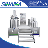 Best selling product vacuum emulsifying mixer