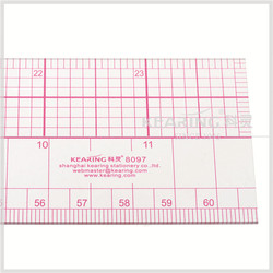 60 cm 24 inch Plastic Grading Ruler with Protractor for Fashion Design Pattern Making # 8097