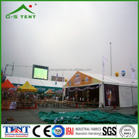 festival fabric roof fire resistant tents structure