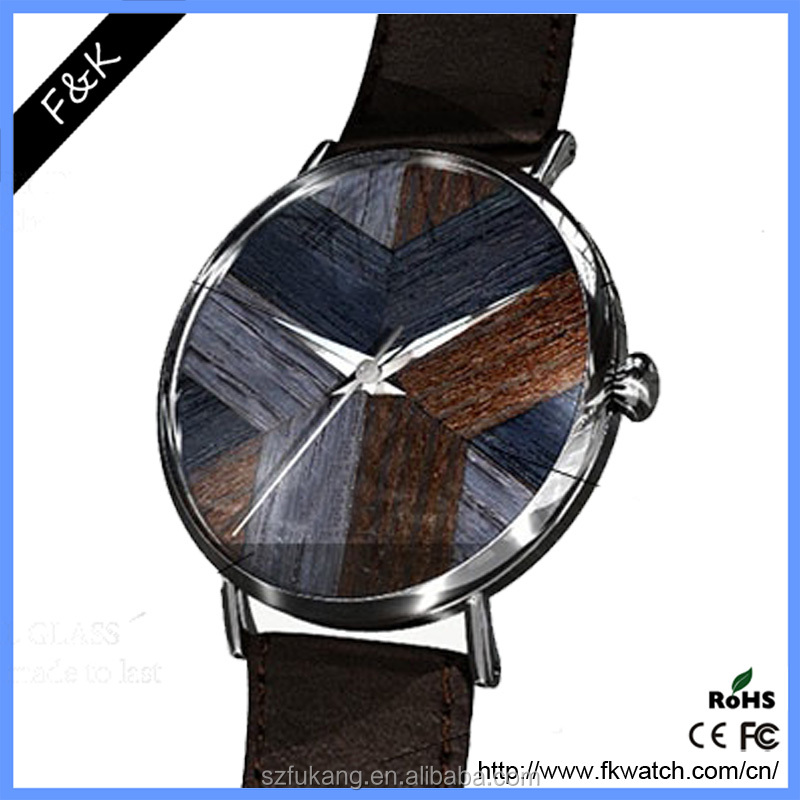 cheap wholesale top brand watch genuine leather watch second hand