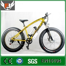 Factory Promotion High handle bar Front suspension and LED Electric Snow Bike with 21 speed gear
