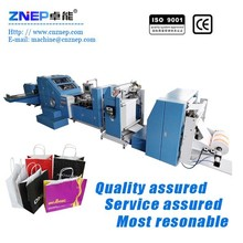 ZD-F260 Paper bag making folding gluing machine