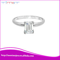Diamond 14KT OEM gold finger ring rings design for women with price