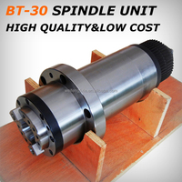 BT30 SPINDLE support ATC + power drawbar