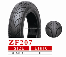 2016 good new fashion pattern high quality low price cheap TT&TL motocicleta tubo autocycle motorcycle scooter tyre 3.50-10