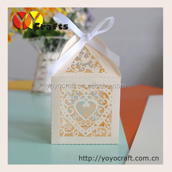 heart shaped ivory small gift boxes for candles favorable <strong>wedding</strong> thank you gifts box for guests