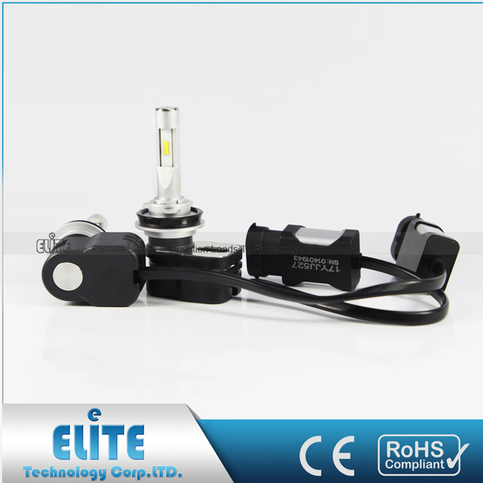 High performance mini T5 led headlight with perfect light pattern