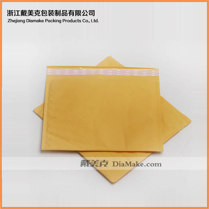 Good quality and self-adshion kraft paper mailing bubble envelope for sales