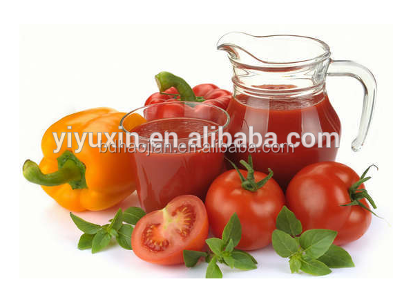 2016 Best selling!!!super high cost performance for 400g Canned Tomato Paste in Sachet