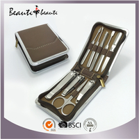 Good Quality & Professional Manicure Tools with Case by SA8000 & ISO Factory