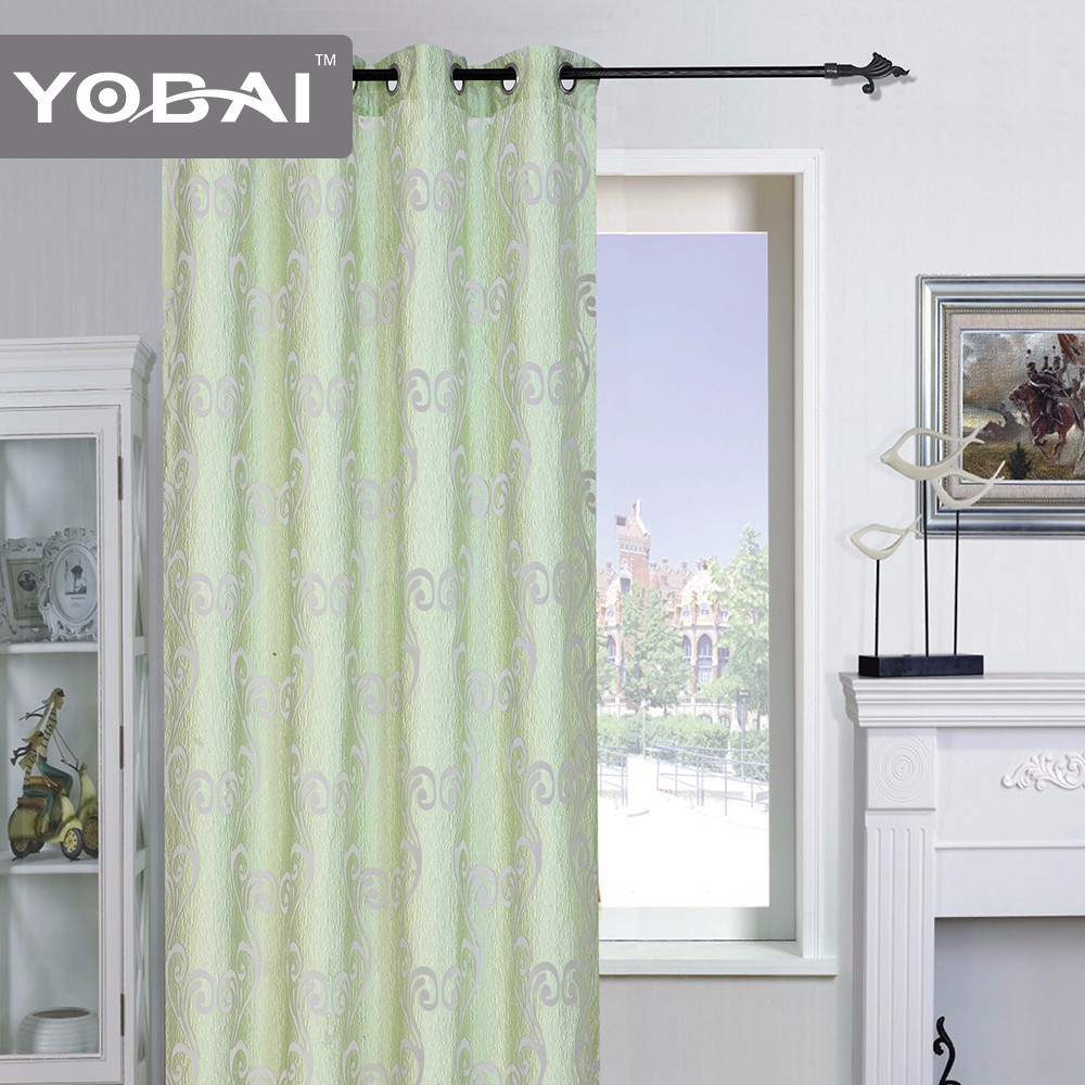 New Arrival Custom Movable Made To Measure Window Lace Polyester Curtains Design For Living Room