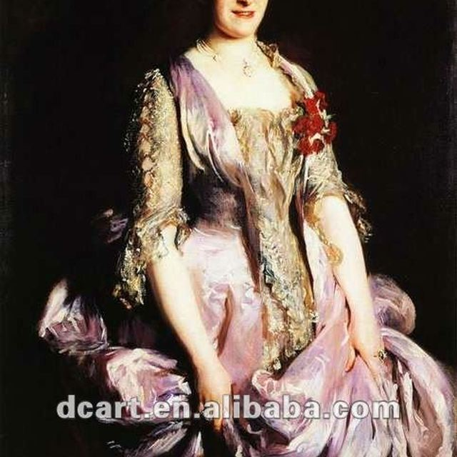 Beautiful Oil Painting Pictures Of Classic Woman