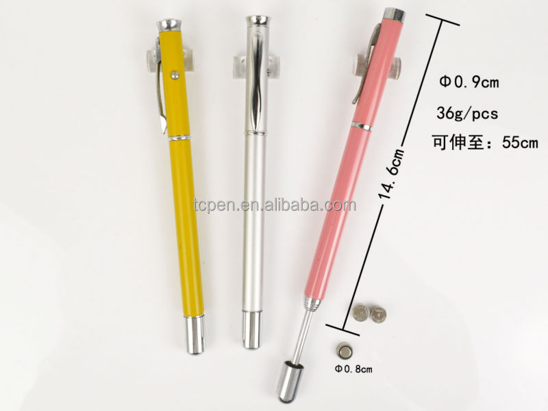 extensible laser pointers roller pen for promotion