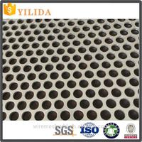 the good quality round hole stainless steel perforated metal screen mesh