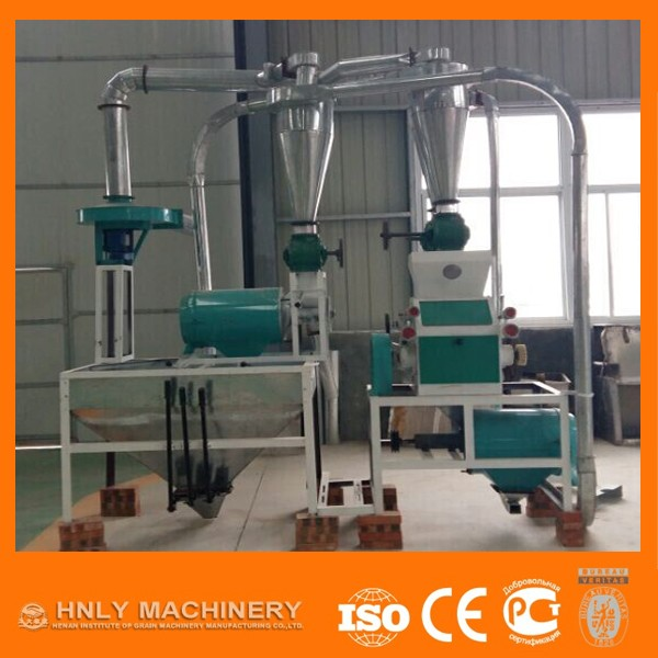 20t/day Automatic Wheat Cassava Flour Mill Processing Machine