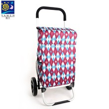 Wholesale foldable shopping cart trolley bag
