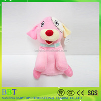 2016 new products cute face dog toys OEM plush dog factory stuffed dog toys