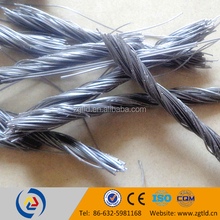 one types of synthetic fibers twisted bundle pp fibers in cement