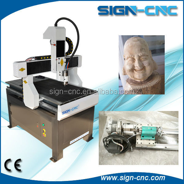 cnc router 6090/advertising cnc engraver /advertising escalator handrail machine