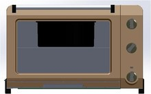 43L Electric Oven with Rotisserie and convection fuction GS-A13 Approval
