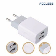 Travel Charger 2.1A 12W dual usb wall charger adapter for iPhone 6 7 8 for samsung note 8 with FCC CE ROHS UL certificate