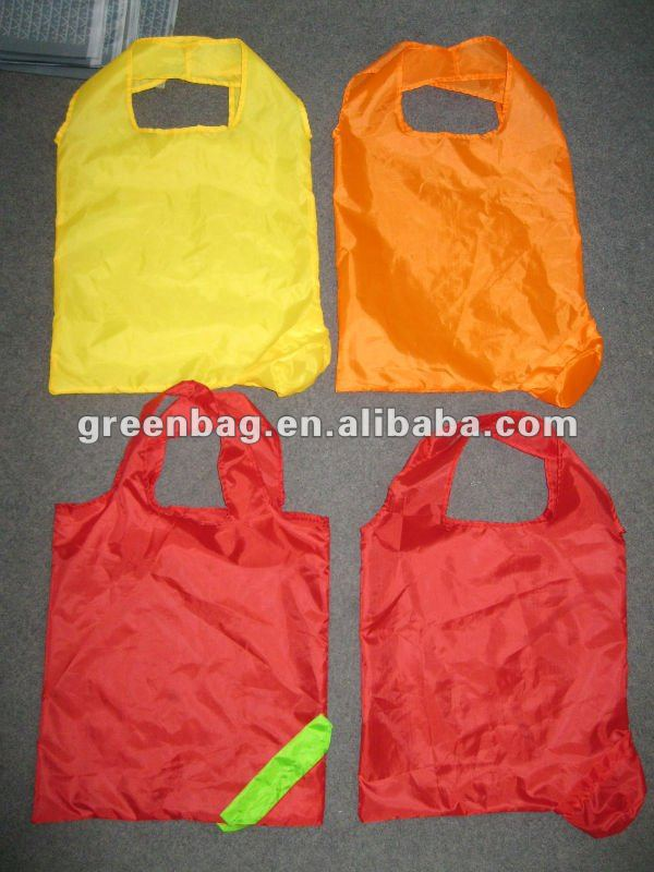 hot sale!!190T foldable polyester non-woven Shopping bag