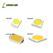 Guangzhou SMD LED Chip 0.2w 0.5w 1w 2w 3w 2V 3V 6V 8V warm white cool white SMD 5050 5630 2835 LED Chip